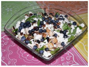 Blueberry salad