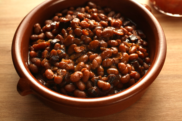 Bacon-Maple Slow-Cooker Baked Beans | jeffs kitchen